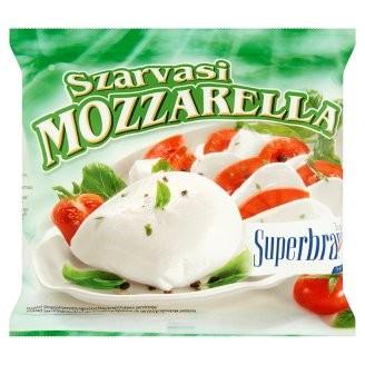 Sajt Mozzarella 100g Szarvasi*
