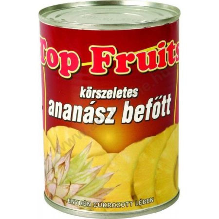 Konzerv ananász darabolt 565g*