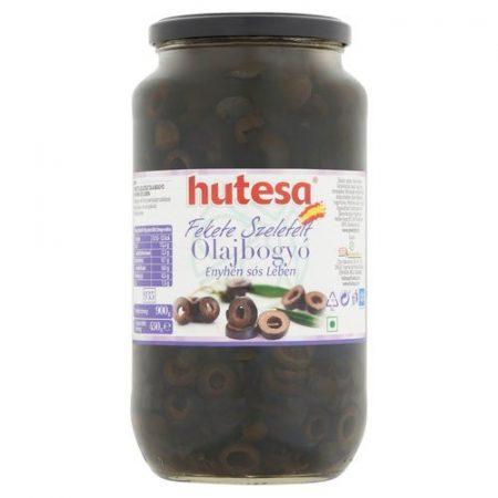 Oliva fekete szeletelt 3000g Mazza