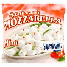 Sajt mozzarella mini 100g Szarvasi
