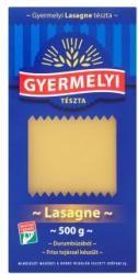 Tészta lasagne 500g Gyermelyi 4toj.