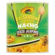 Konzerv jalapeno 2900/1500g El Sabor*