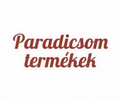 Paradicsom termékek
